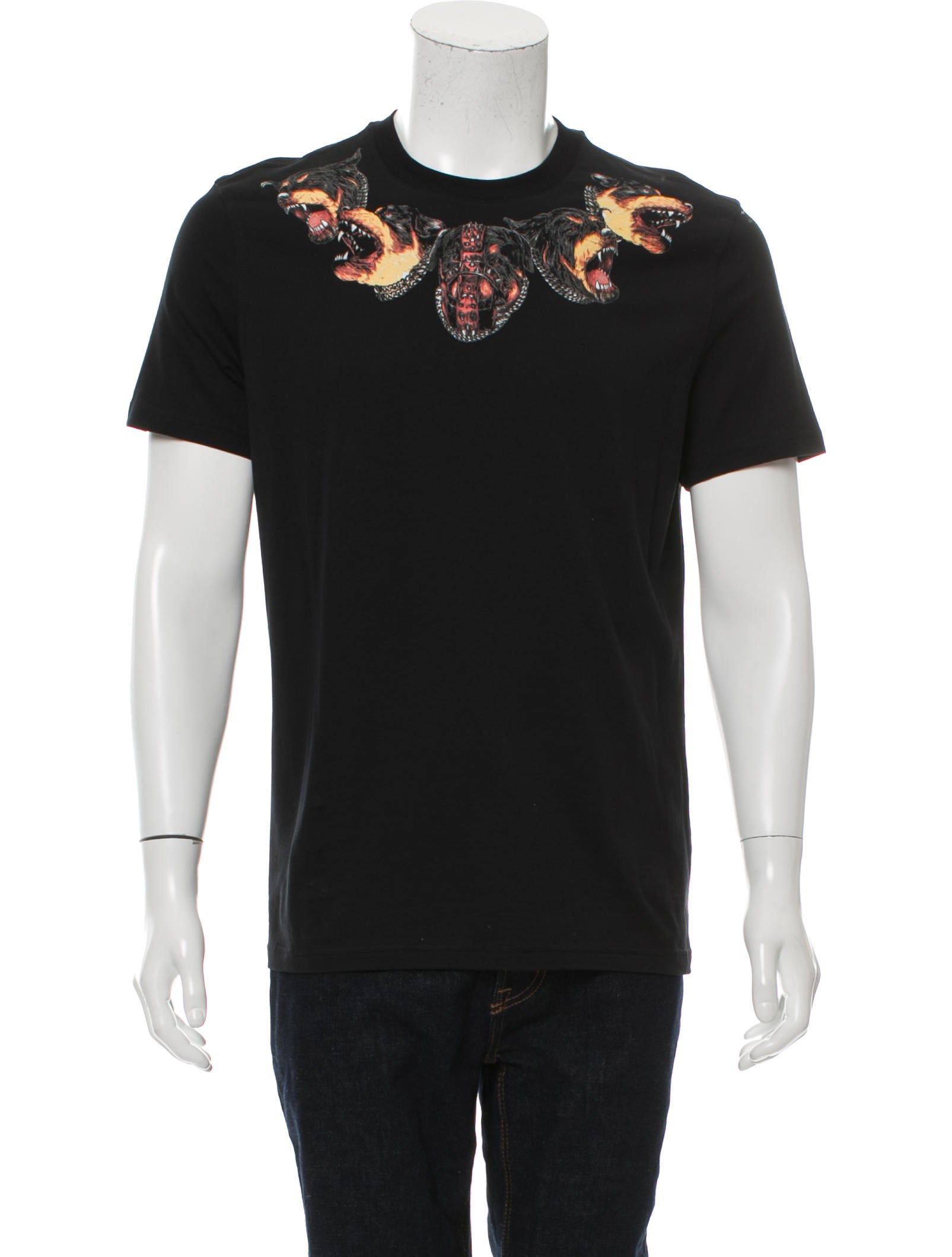 Givenchy rottweiler graphic t shirt clothing giv40687 for Givenchy t shirts for sale