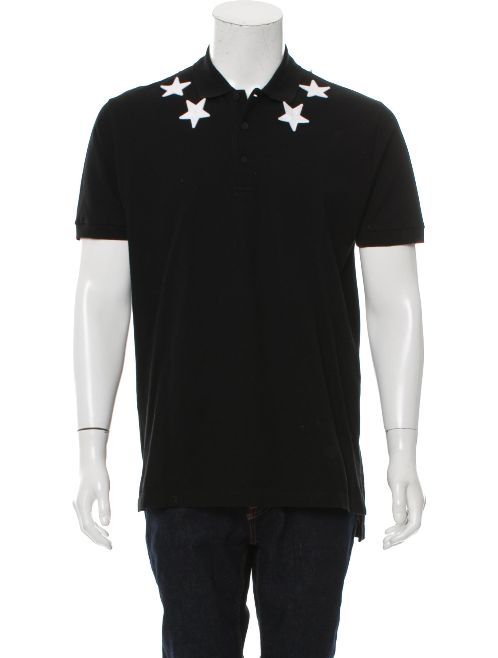 Givenchy embroidered polo shirt clothing giv40712 for Embroidered polo shirts online