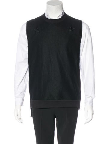 Givenchy Wool Star Vest None