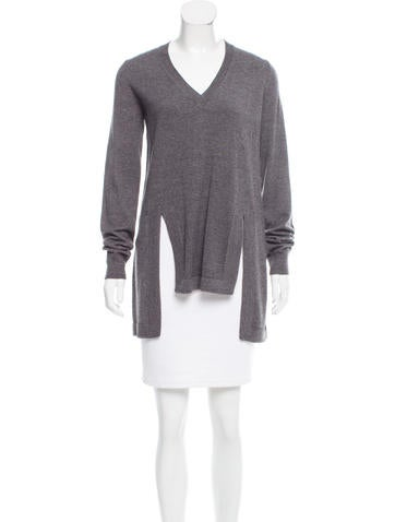Givenchy Wool & Alpaca-Blend Tunic w/ Tags None