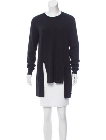 Givenchy Wool & Alpaca-Blend Tunic None