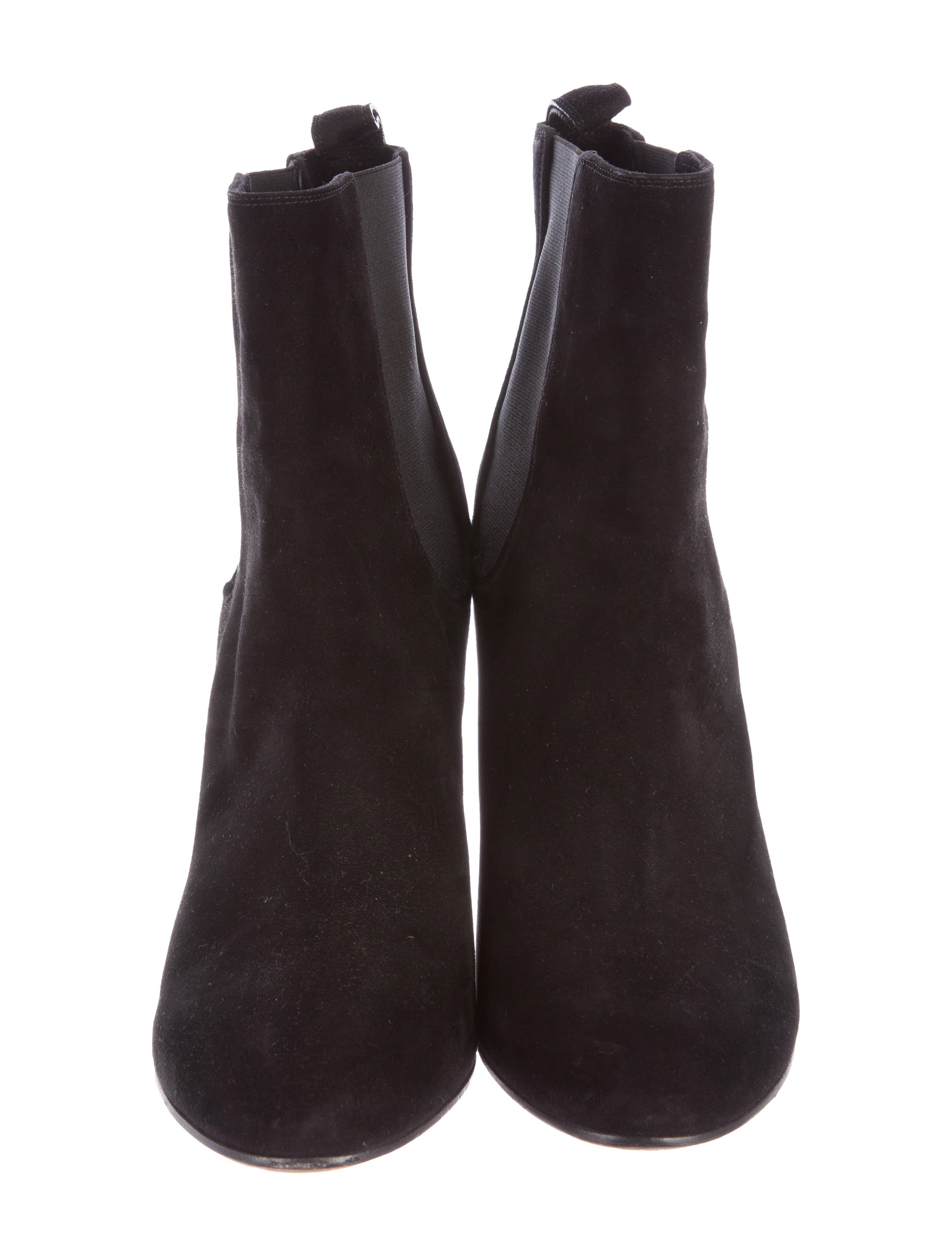 givenchy suede wedge ankle boots shoes giv41224 the
