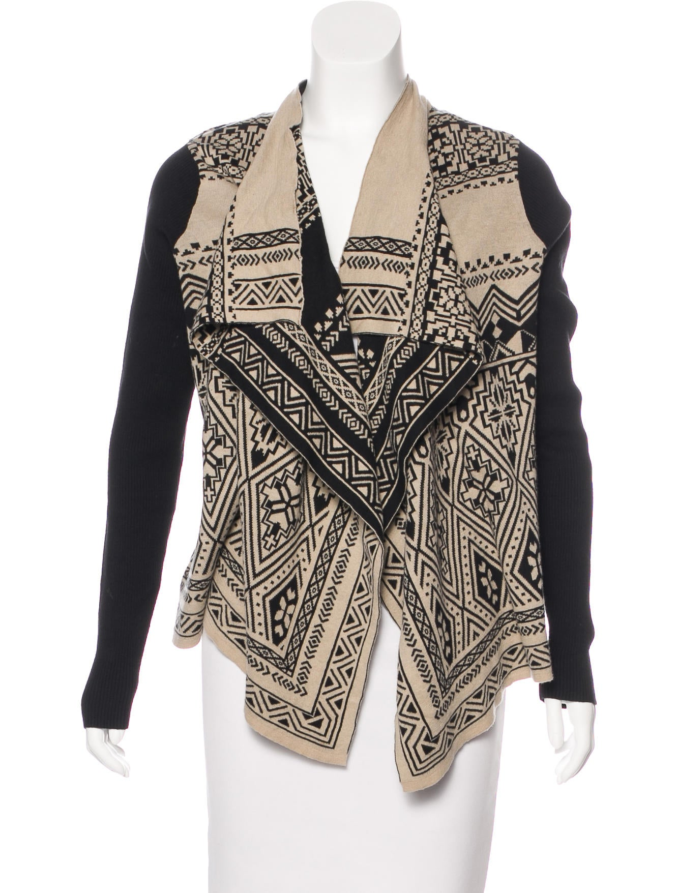 Givenchy Open Front Waterfall Cardigan - Clothing - GIV41333 | The ...