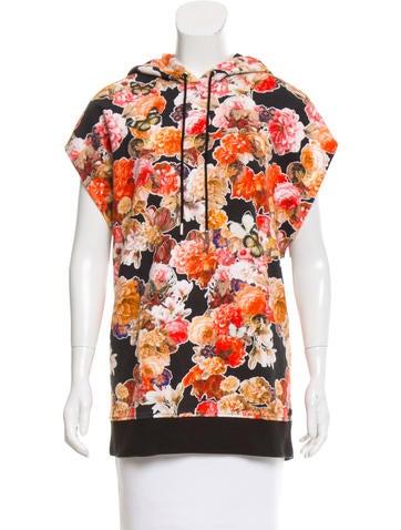 Givenchy Floral Print Sleeveless Sweatshirt None
