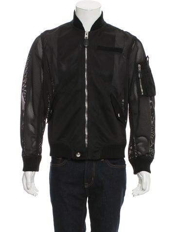 Givenchy Mesh Bomber Jacket None