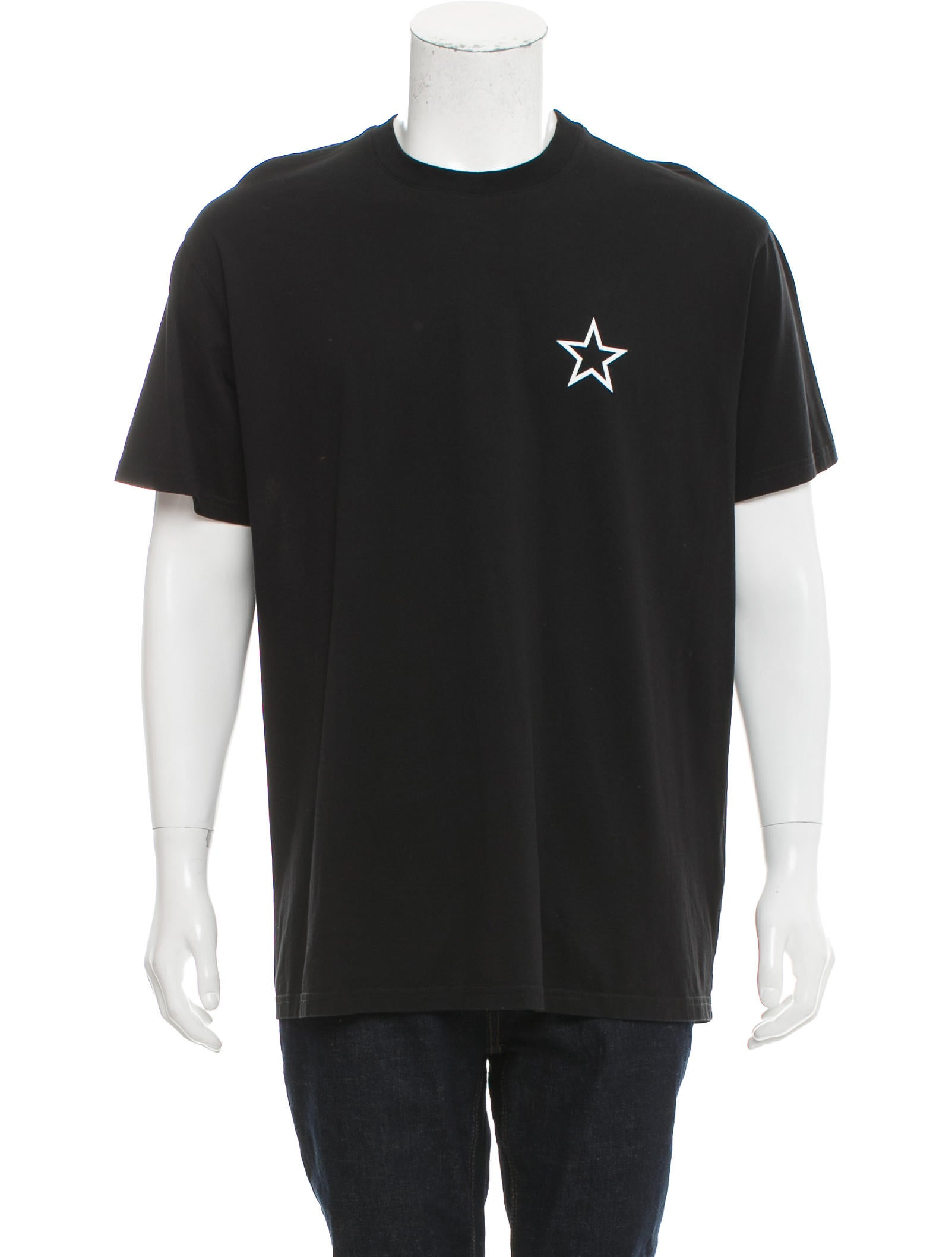 Givenchy 206 star print t shirt clothing giv41504 for Givenchy star t shirt