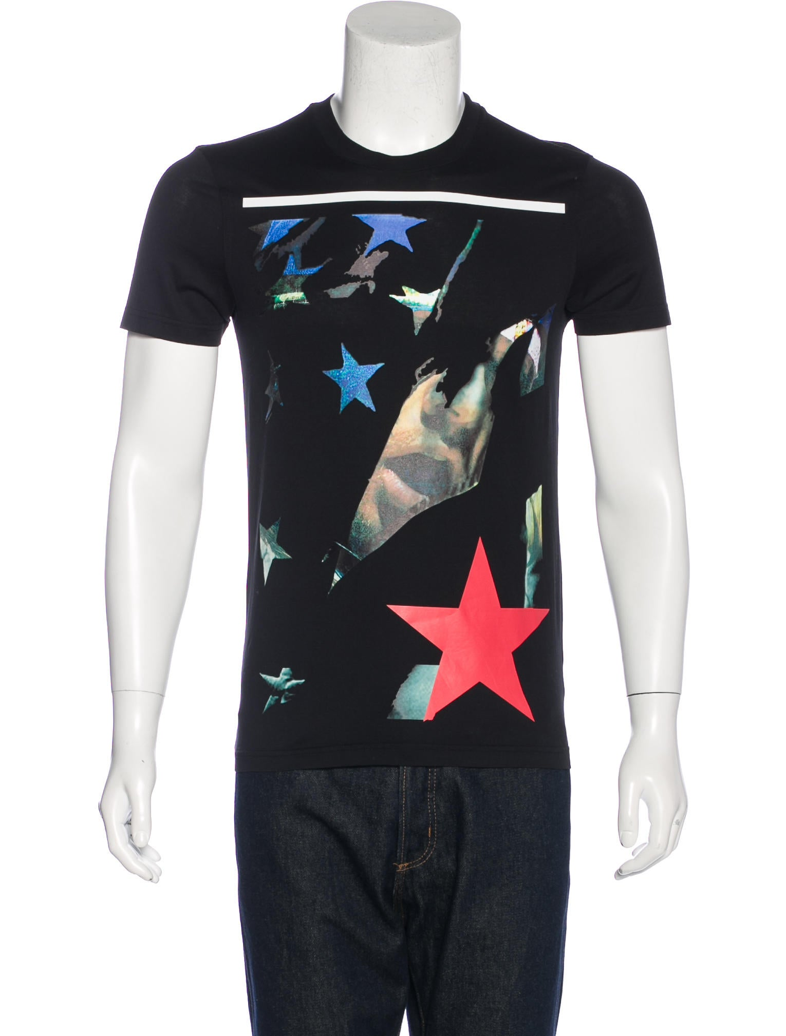 Givenchy graphic print t shirt clothing giv41645 the for T shirt graphic printing