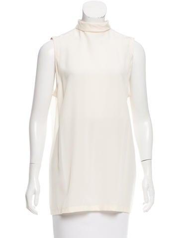 Givenchy Silk Sheer Top None