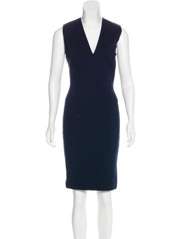 Givenchy Sleeveless Knee-Length Dress None
