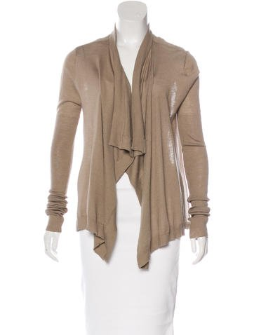 Givenchy Wool & Silk-Blend Cardigan None
