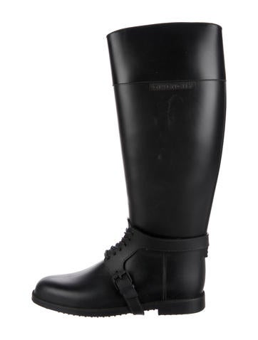 givenchy rubber knee high boots shoes giv42155