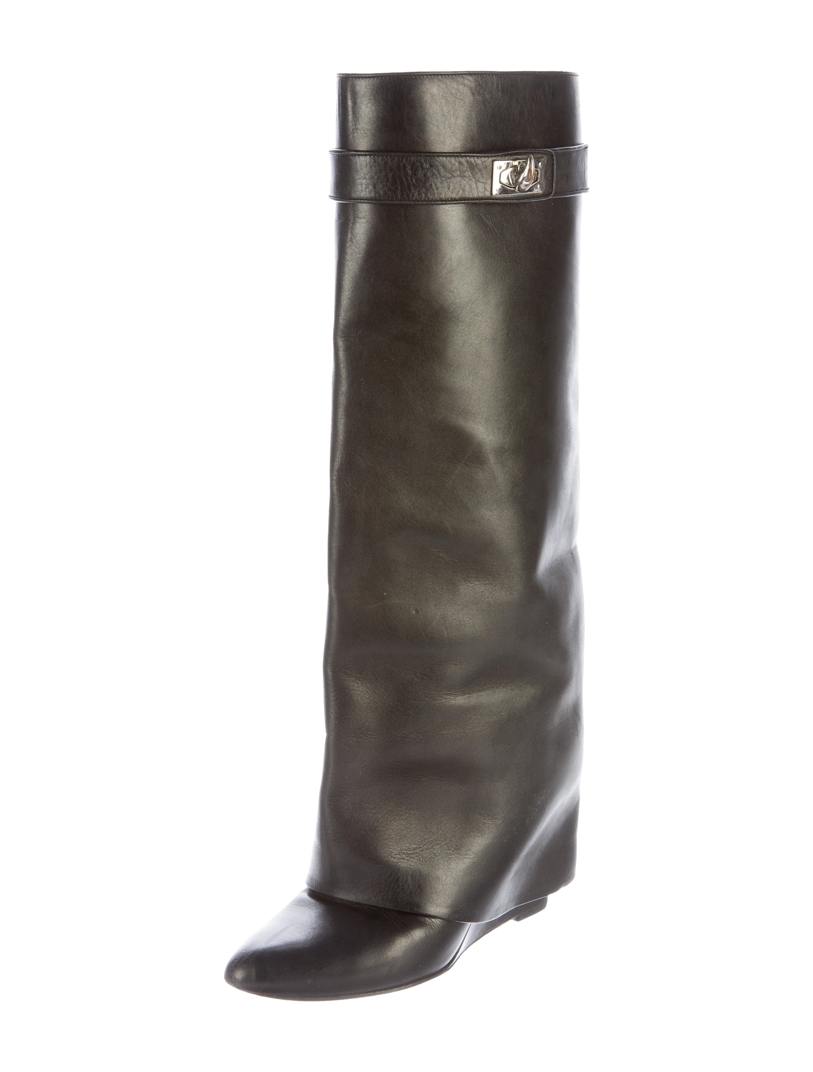givenchy shark lock wedge boots shoes giv42263 the