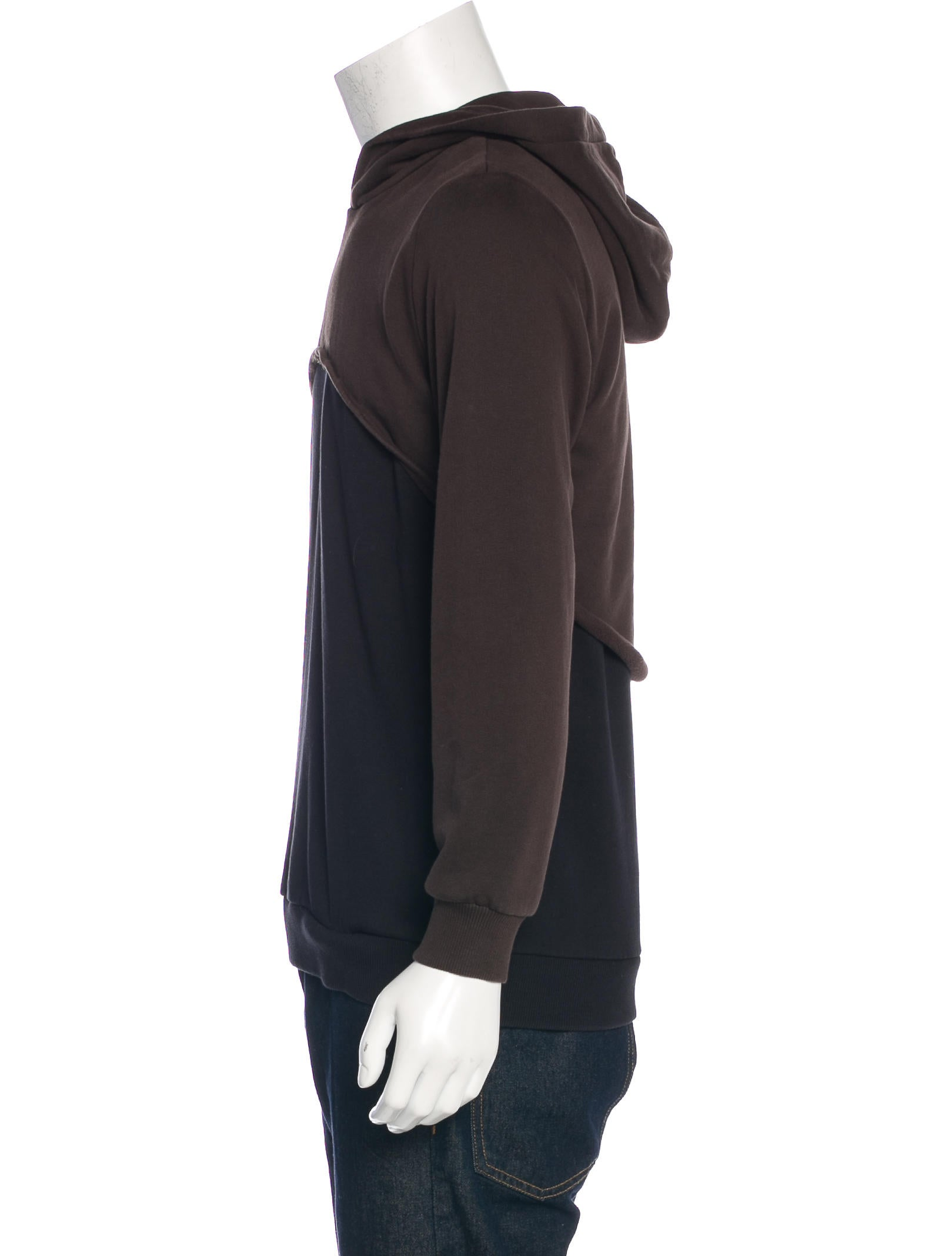 Two tone hoodie