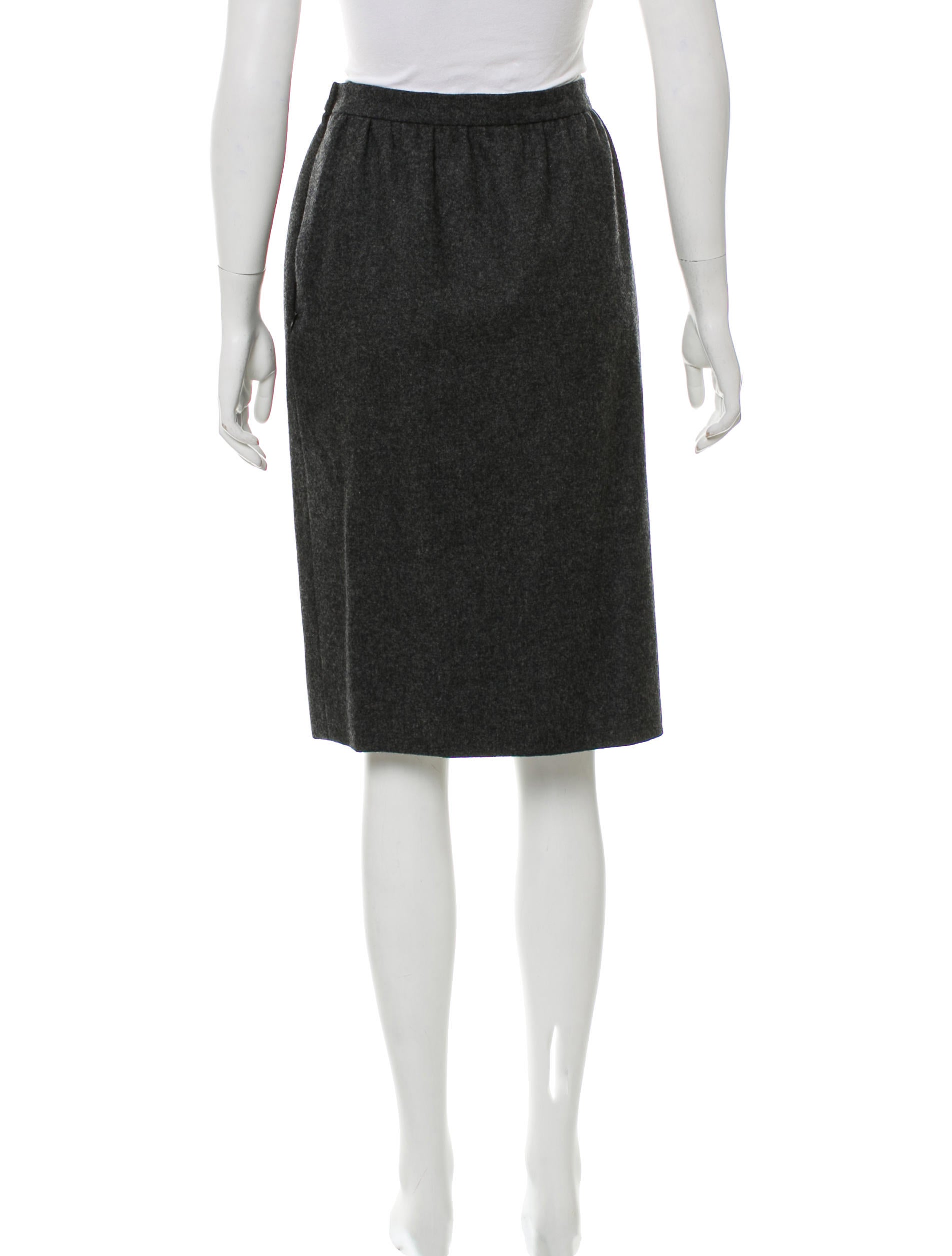 givenchy knee length pencil skirt clothing giv42467