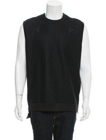 Givenchy Star Crew Neck Sweatshirt None