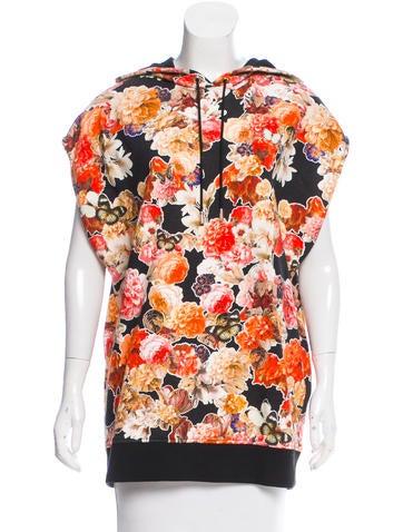 Givenchy 2015 Floral Print Sweatshirt None
