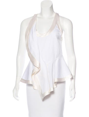 Givenchy Sleeveless Structured Blouse None