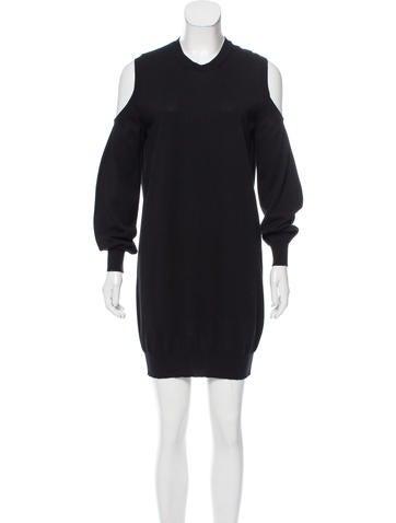 Givenchy Knit Mini Dress None