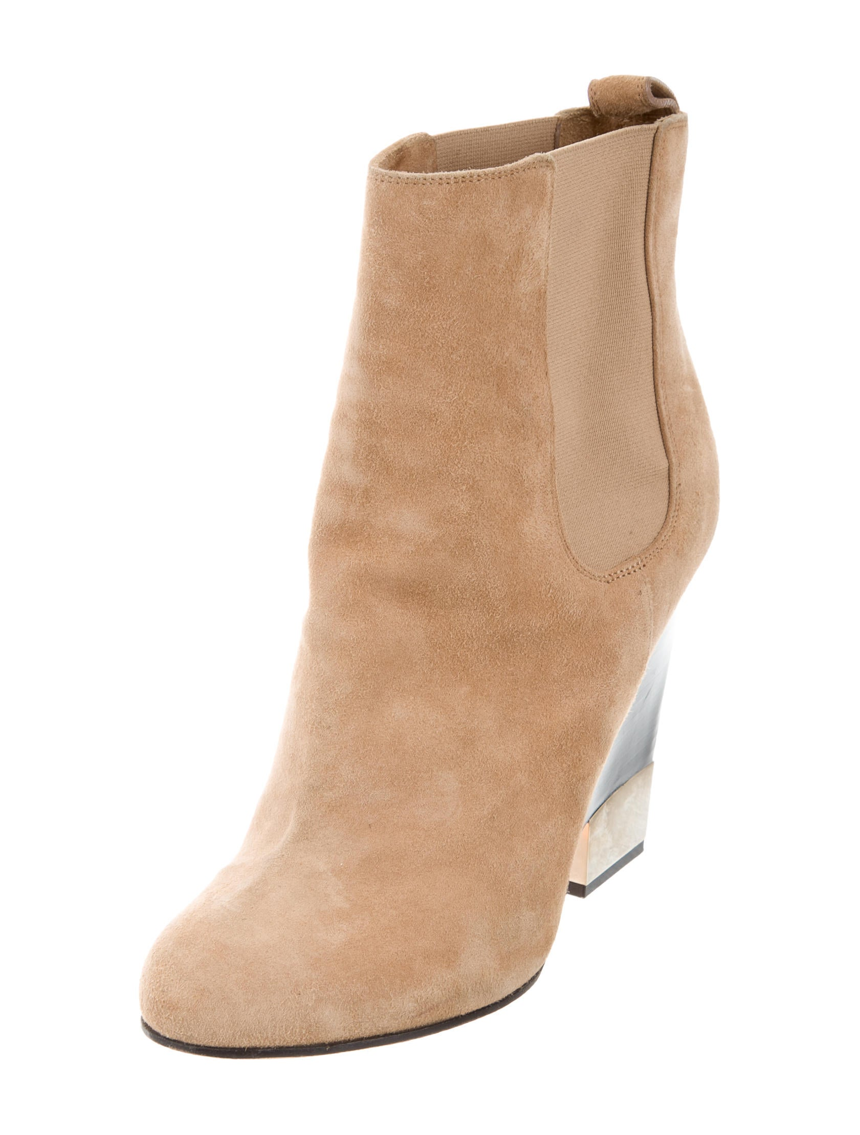 givenchy suede wedge ankle boots shoes giv43254 the