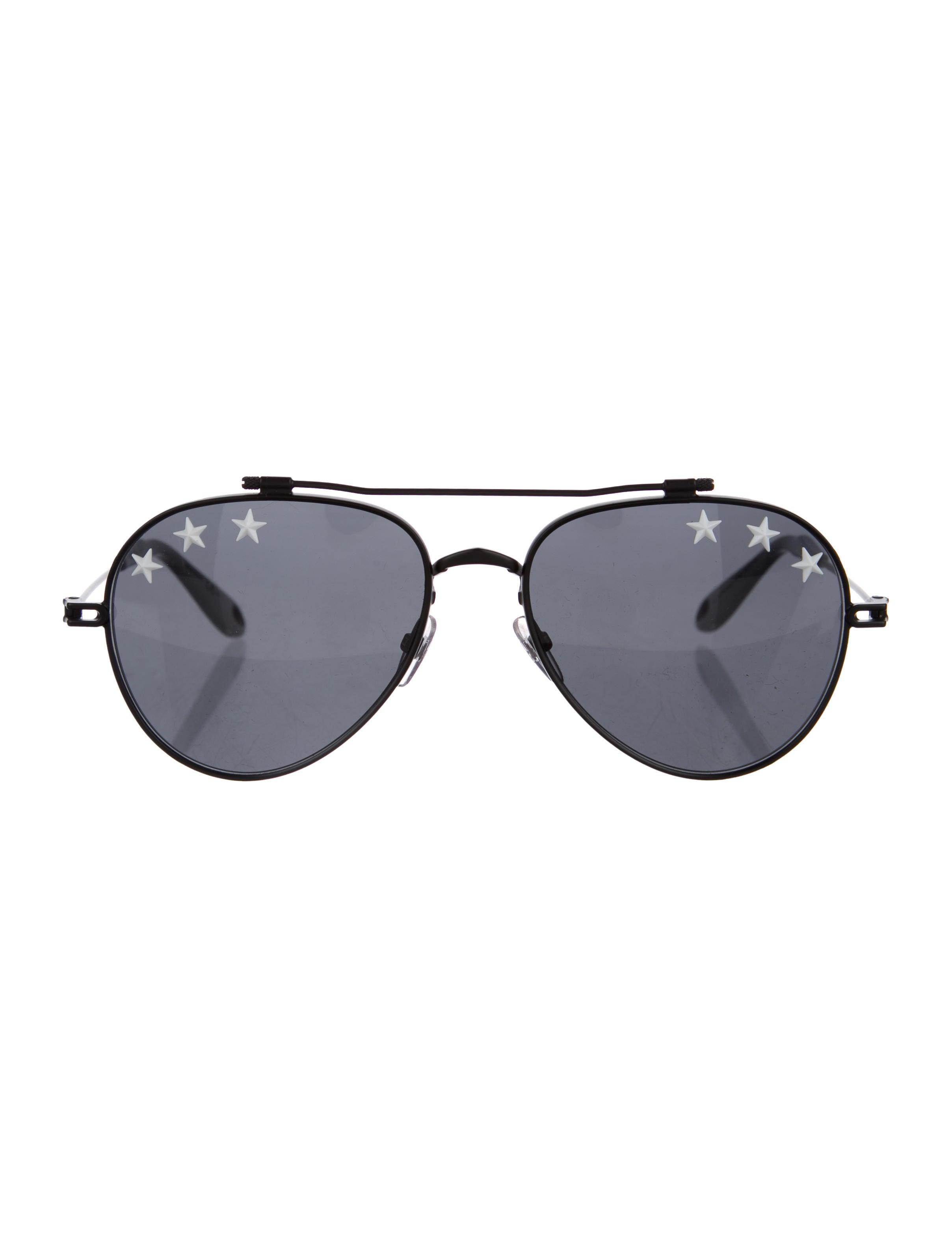 d0e157e9002ec Givenchy Star Studded Aviator Sunglasses - Accessories - GIV43324