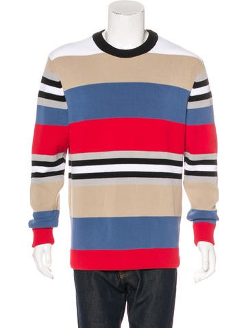 Givenchy Striped Knit Sweater None