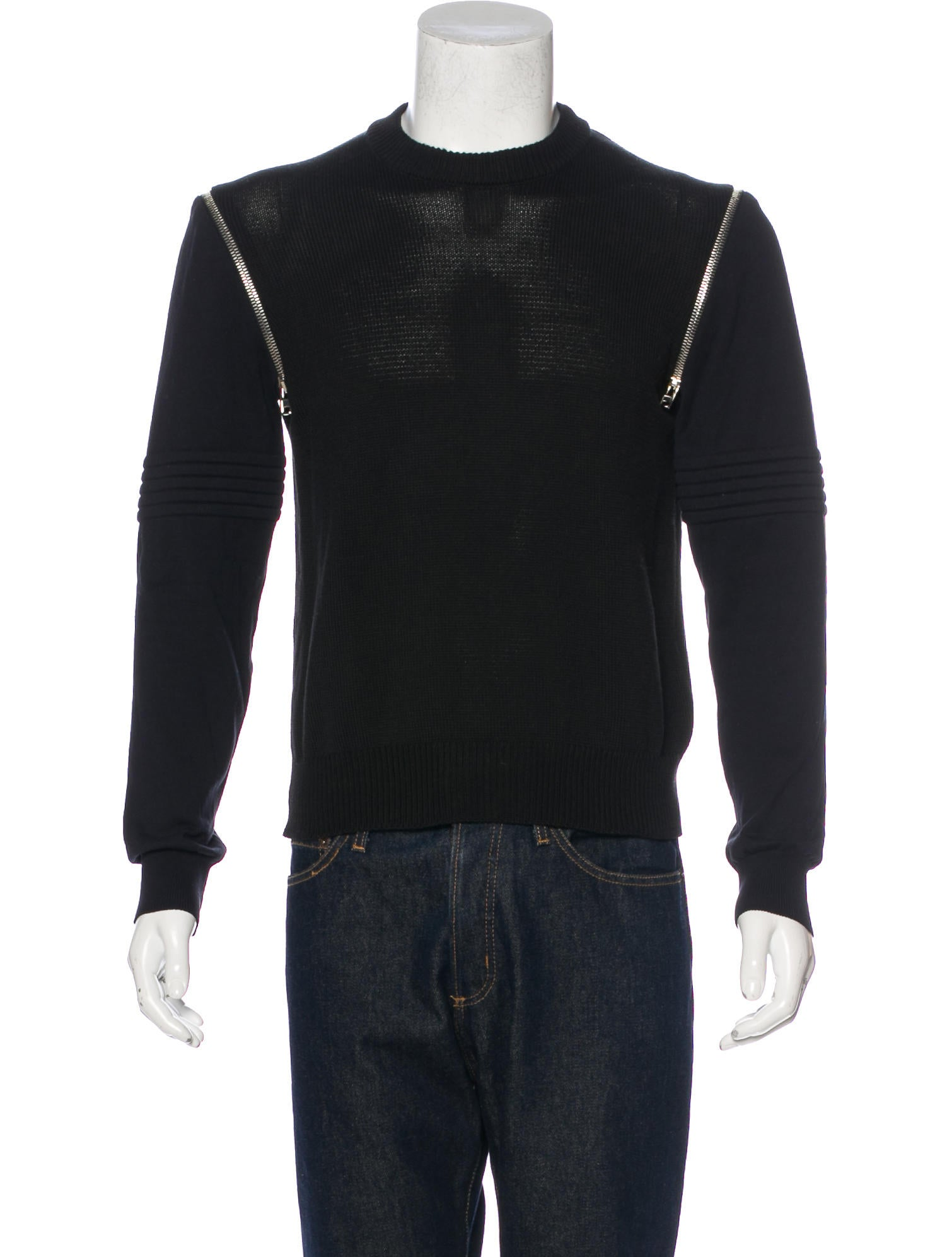 givenchy crew neck sweater clothing giv43995 the realreal. Black Bedroom Furniture Sets. Home Design Ideas