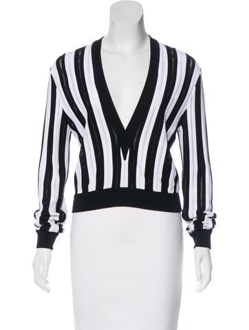 Givenchy 2015 Striped Top None