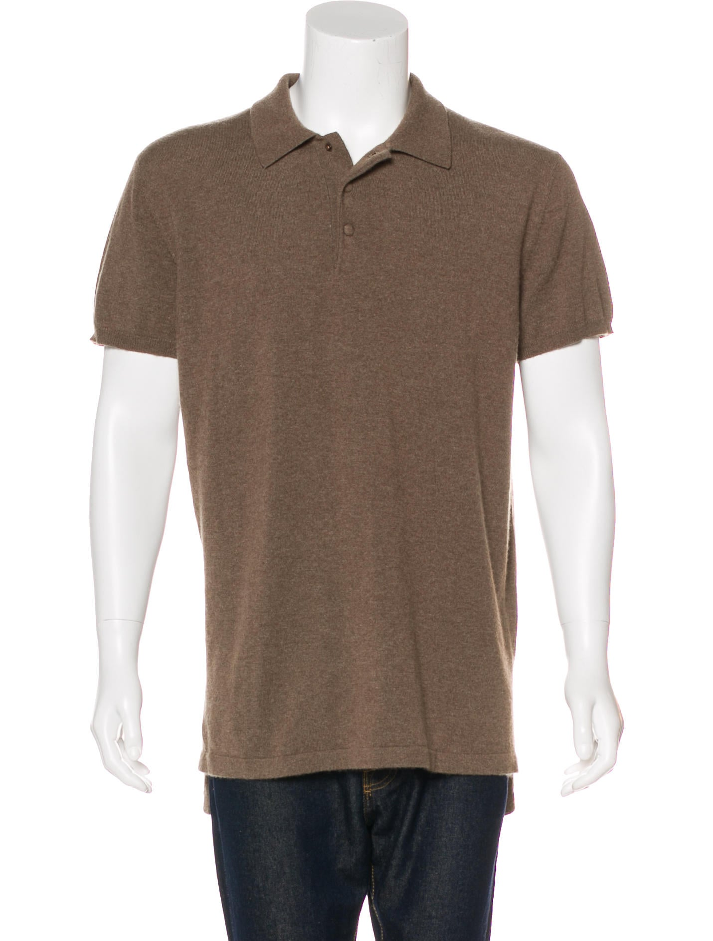 Givenchy 2016 knit polo shirt clothing giv44537 the for Knitted polo shirt mens