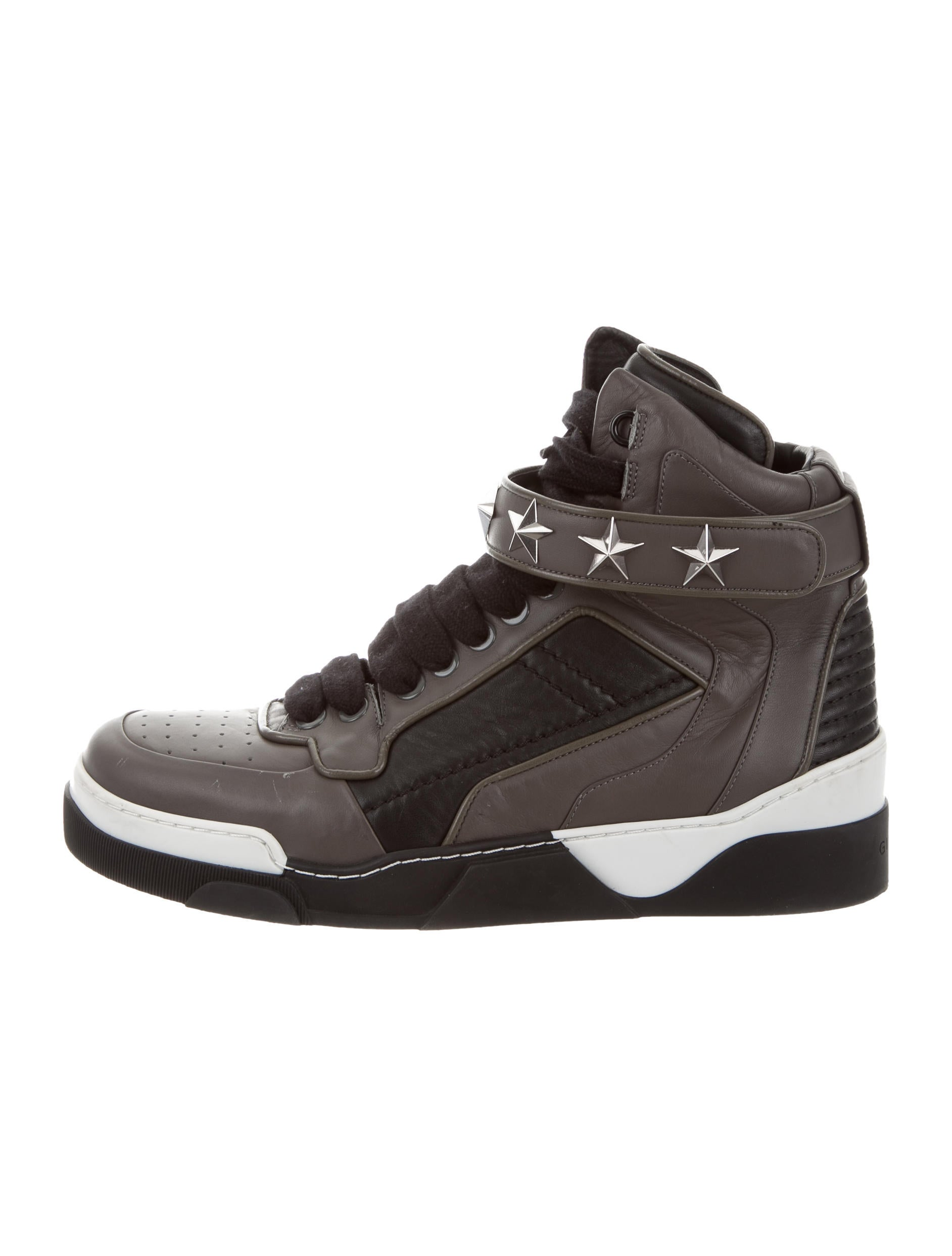 85deac5243e Skor Sneakers High Top Giv44614 Tyson The Realreal Givenchy p6B4wP6