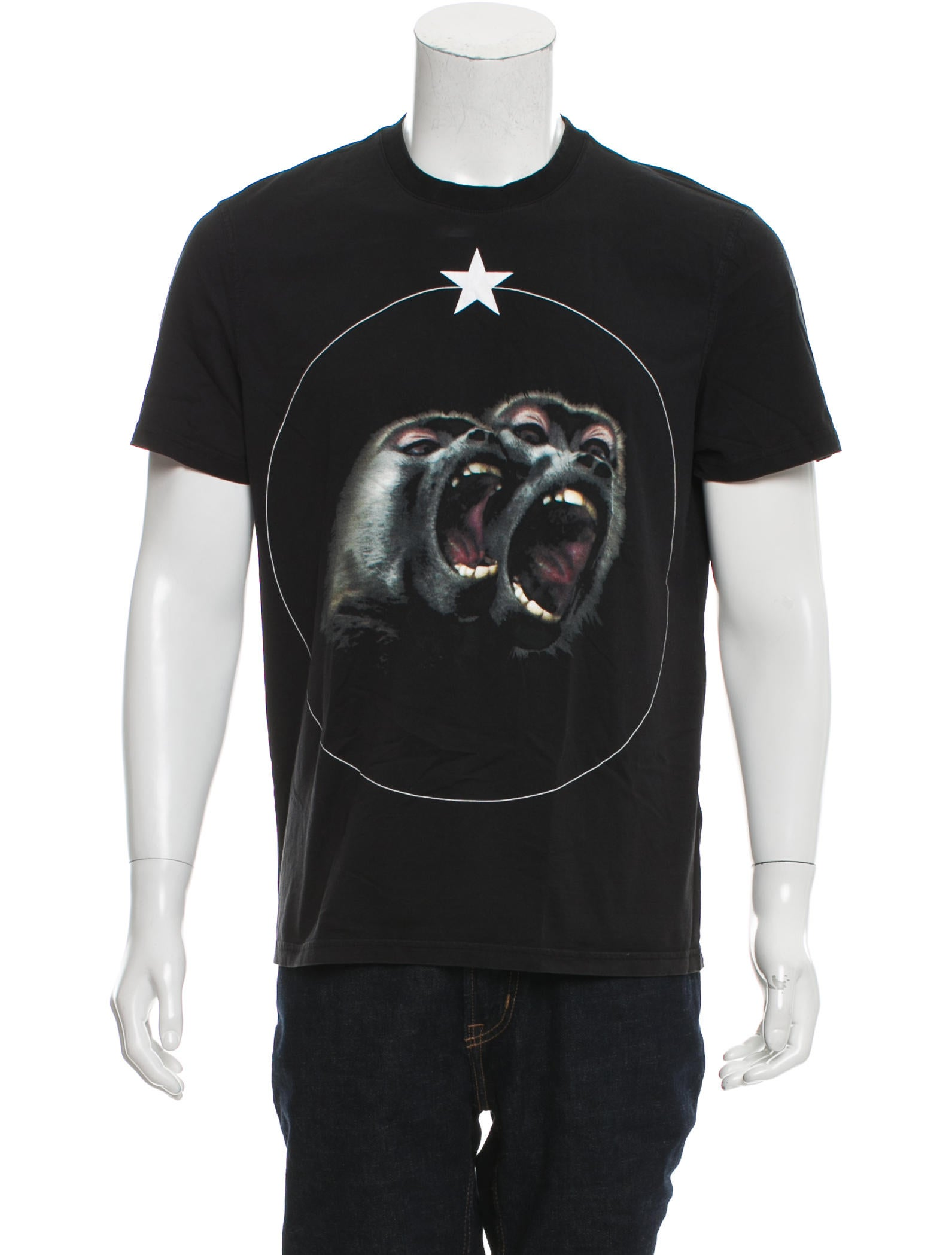 Givenchy 2016 monkey brothers t shirt clothing Givenchy t shirt price