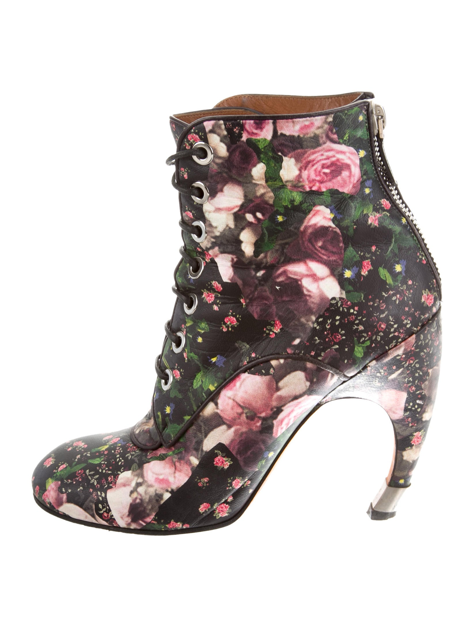 Givenchy Floral Ankle Boots low shipping sale online 99n6rCDV