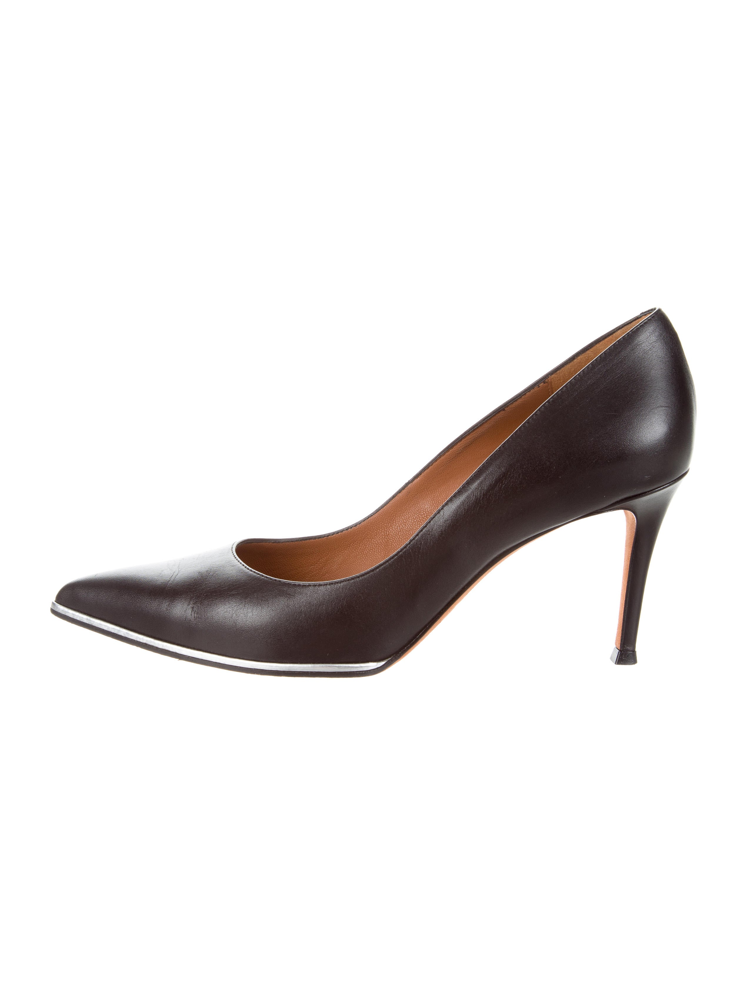 new styles for sale the cheapest sale online Givenchy Leather Pointed-Toe Pumps cheap price discount authentic qtNeyVYT