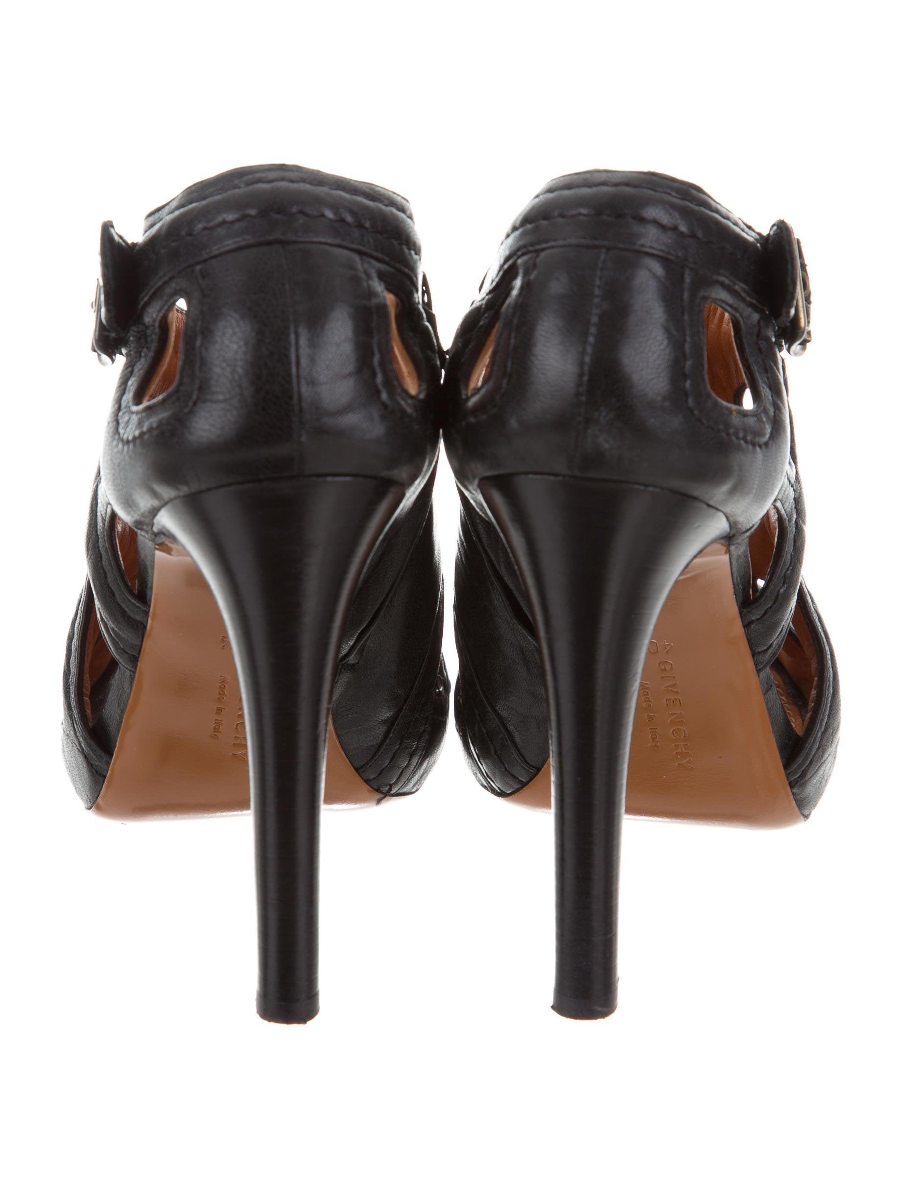 Givenchy Cutout Peep-Toe Pumps pick a best free shipping cheap online sale Cheapest sale marketable S6q0Jk