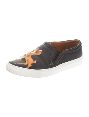 Givenchy Bambi Slip On Shoes