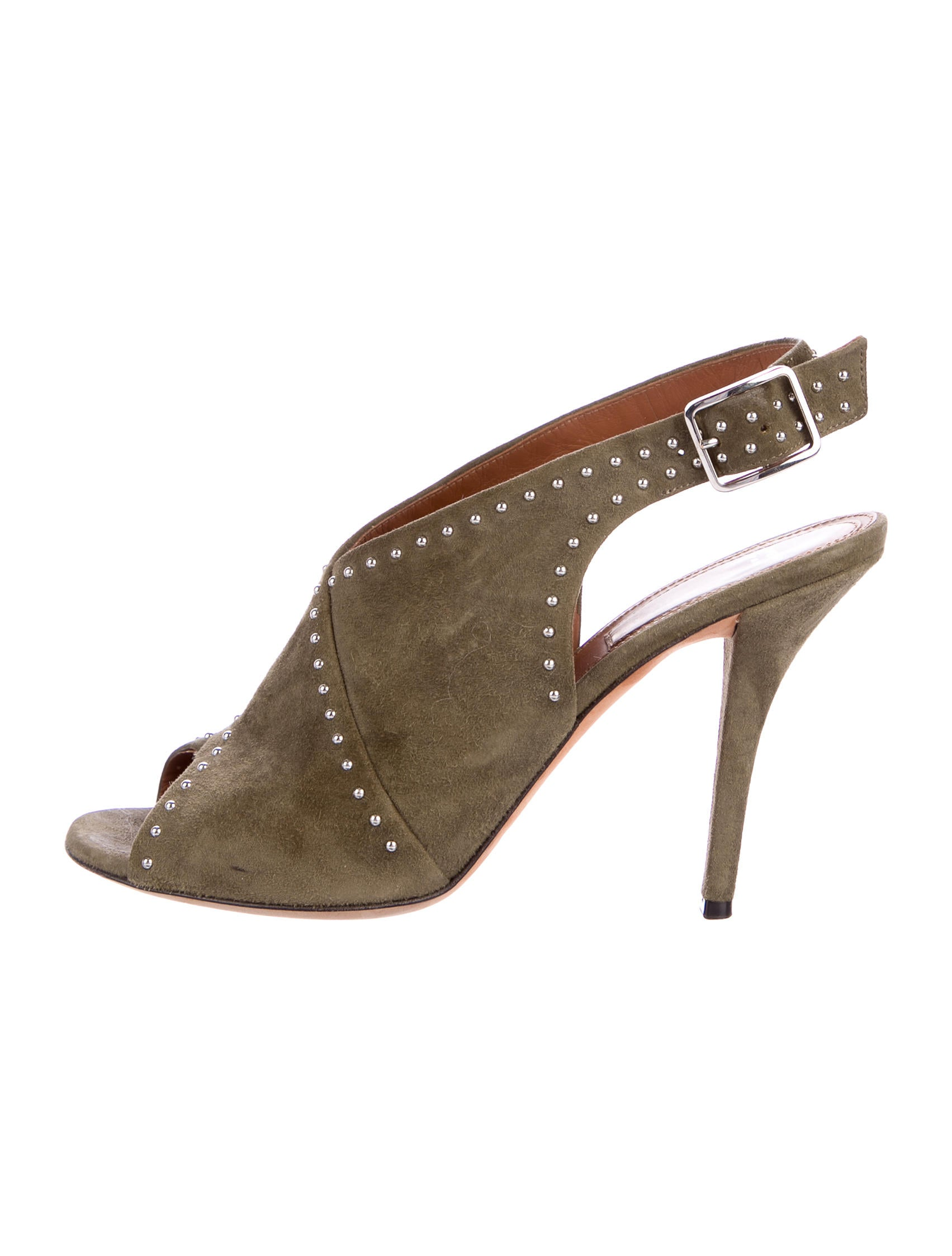 Givenchy Suede Slingback Booties best wholesale sale online discount best store to get rNpQVg