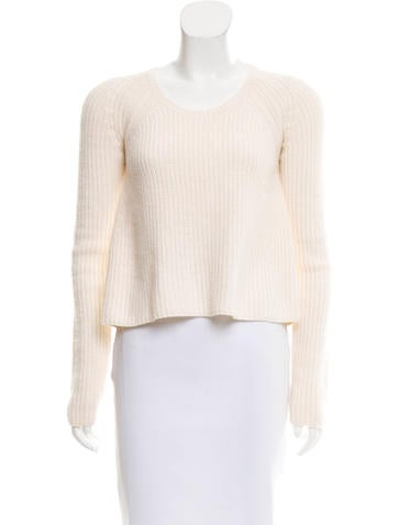 Givenchy Wool Rib Knit Sweater None