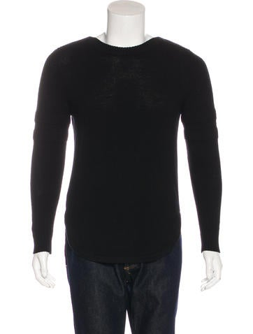 Givenchy Zip-Accented Wool Sweater None