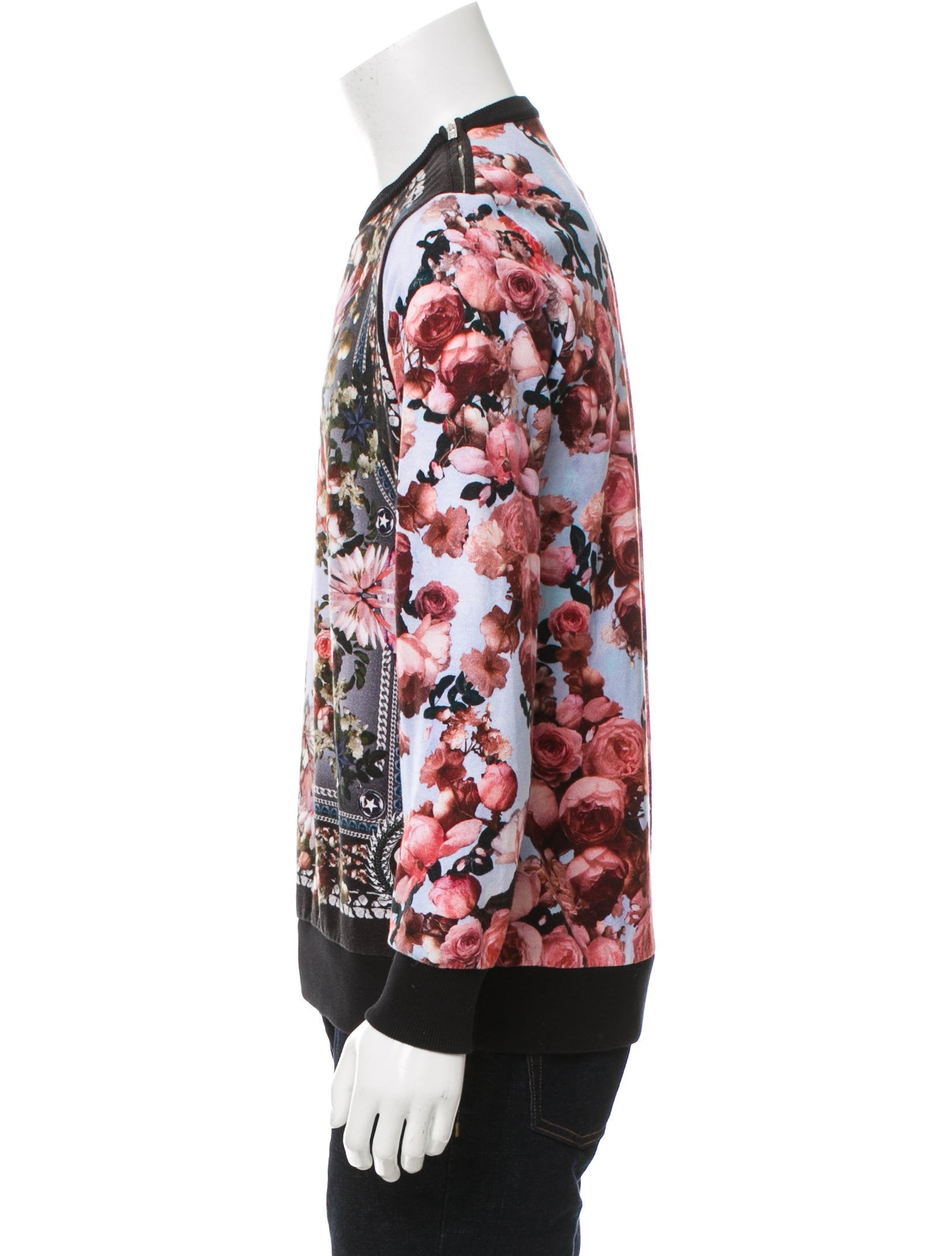 givenchy floral sweatshirt