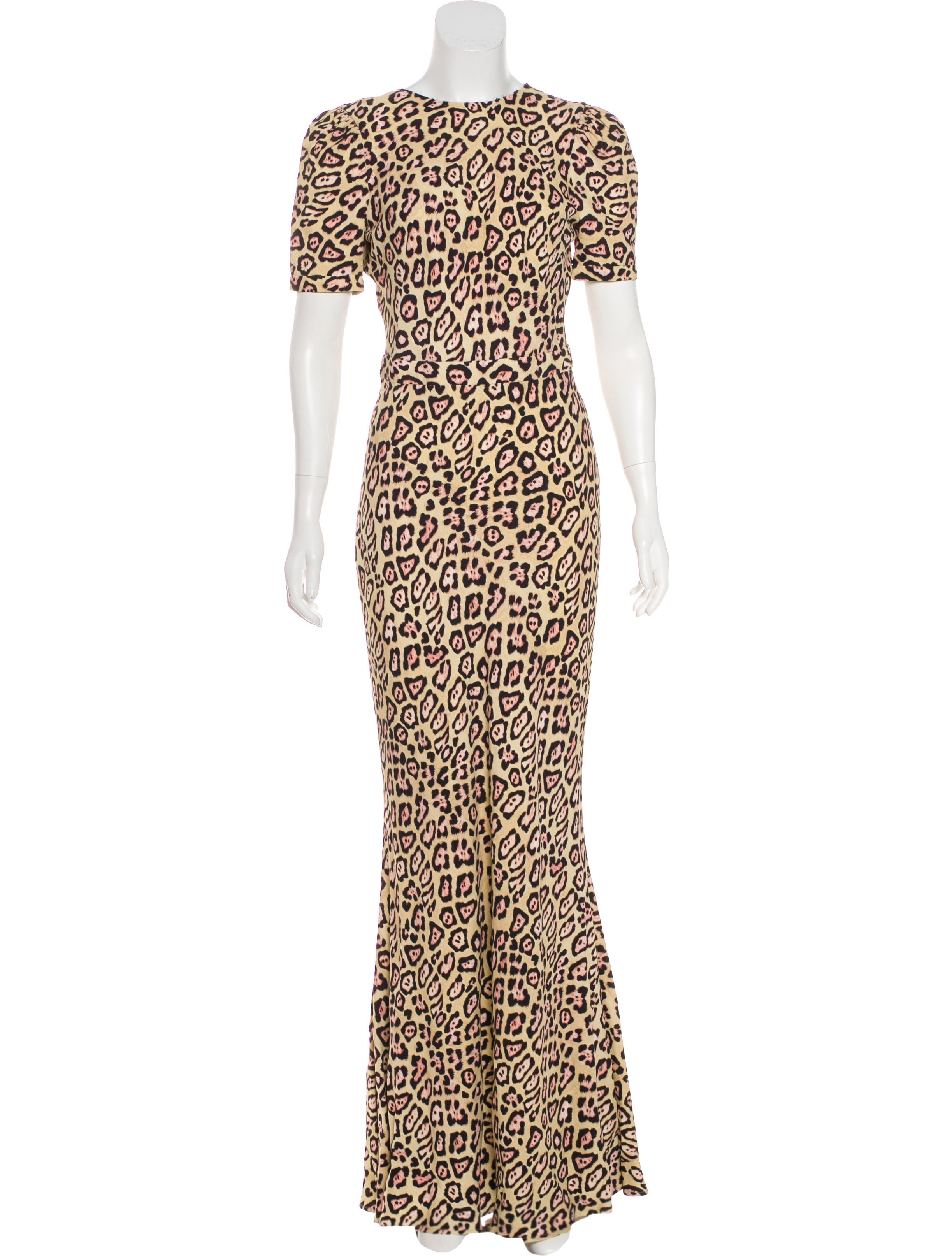 Givenchy 2016 Leopard Print Gown - Clothing - GIV47397 | The RealReal