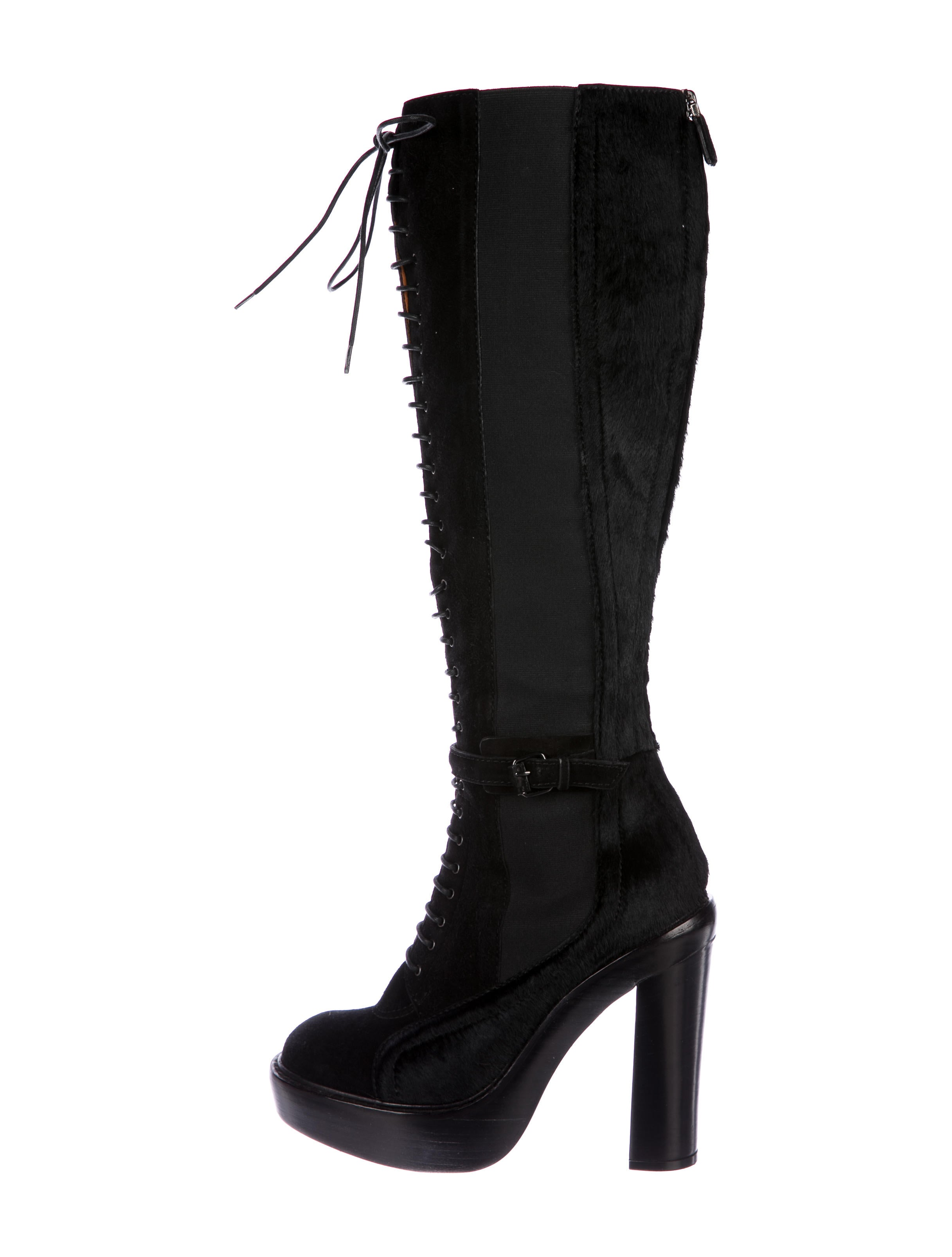 buy cheap cheapest price Givenchy Suede Ponyhair-Accented Boots get authentic cheap online buy cheap extremely shop cheap online upqiUi5QAH