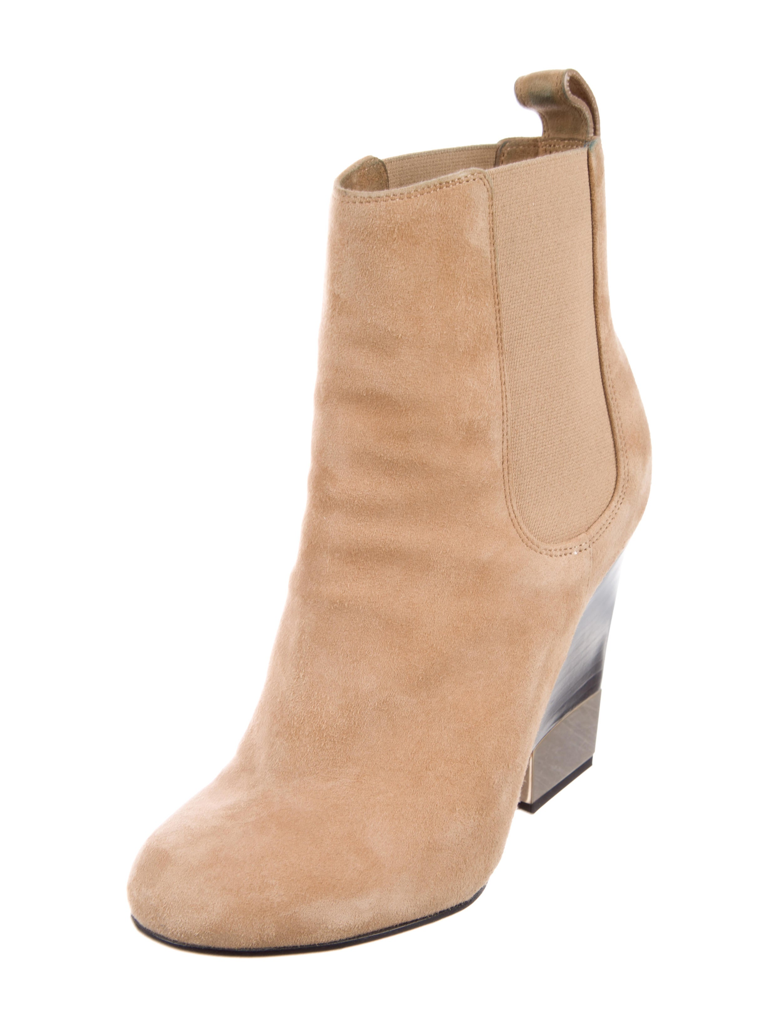 latest cheap online Givenchy Suede Round-Toe Ankle Boots outlet 100% original 9Rj63UiO6S