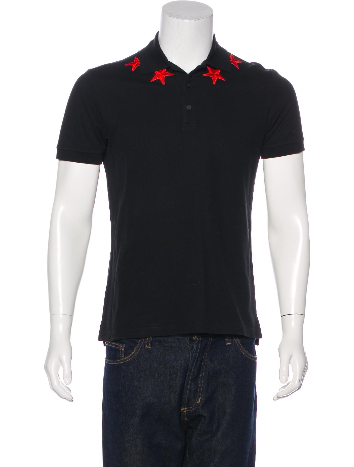 f42962055 Givenchy Star Patch Polo Shirt - Clothing - GIV49142 | The RealReal