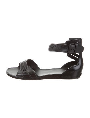good selling cheap price Givenchy Rubber Ankle Strap Sandals outlet extremely ebay online comfortable cheap online cheap from china 4I7F5W