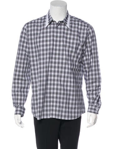 2016 Plaid Contrast Shirt