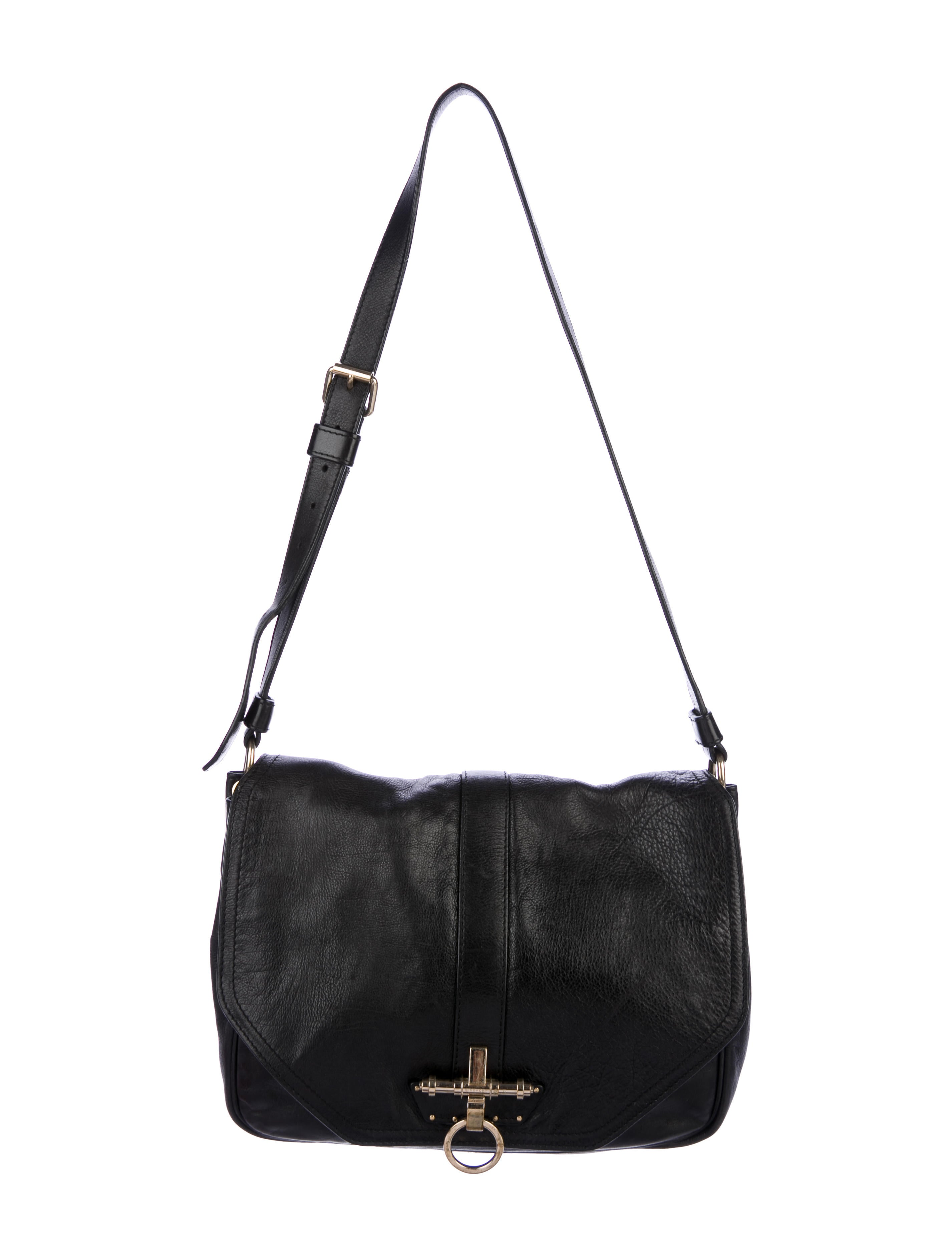 e14bb07e2c Givenchy Leather Obsedia Messenger Bag - Handbags - GIV52880
