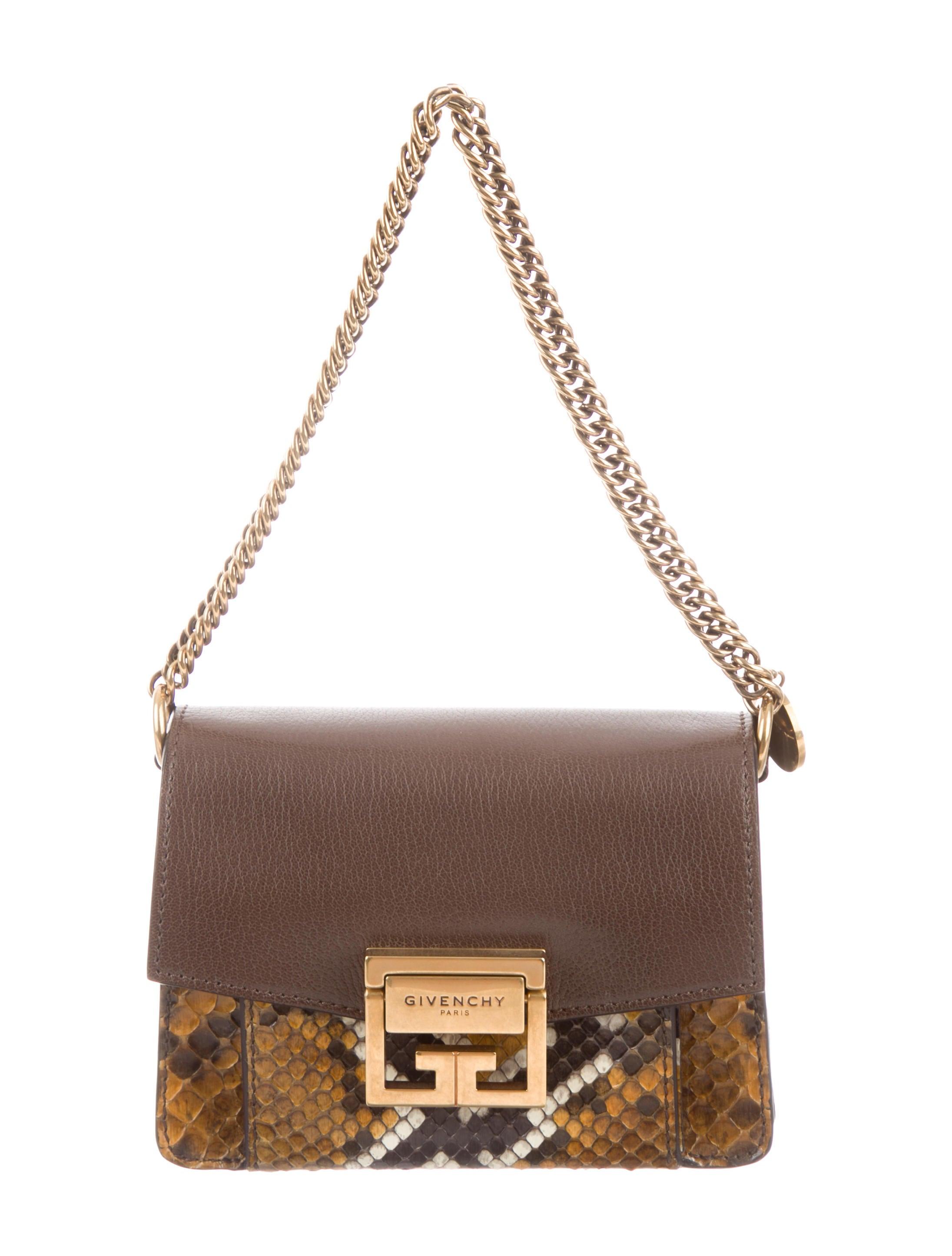 83ee78baa660 Givenchy 2019 Mini Python GV3 Bag - Handbags - GIV63315