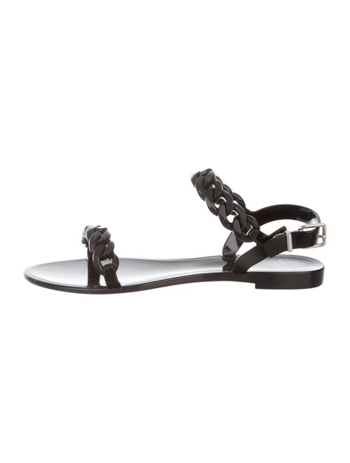 e557d6c12e6 Givenchy Chain-Link Jelly Sandals - Shoes - GIV64484
