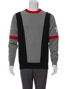 c00d7185906aa Givenchy. Colorblock Star Sweater
