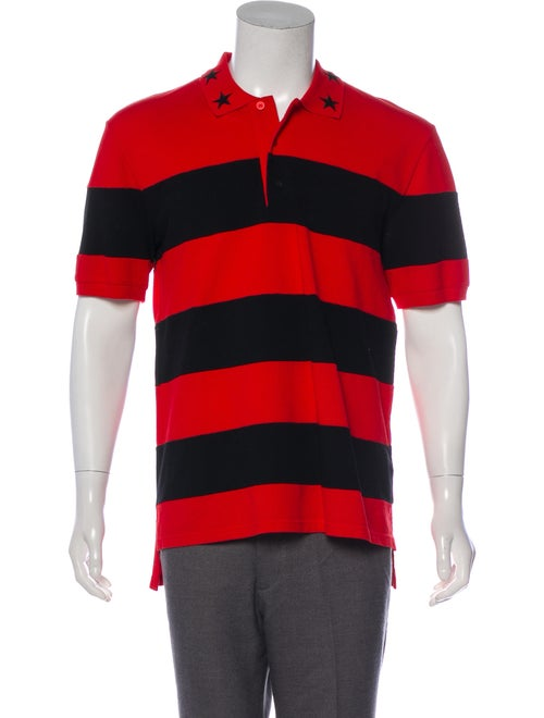 52c5310cb Givenchy Star Appliqué Polo Shirt - Clothing - GIV65489 | The RealReal