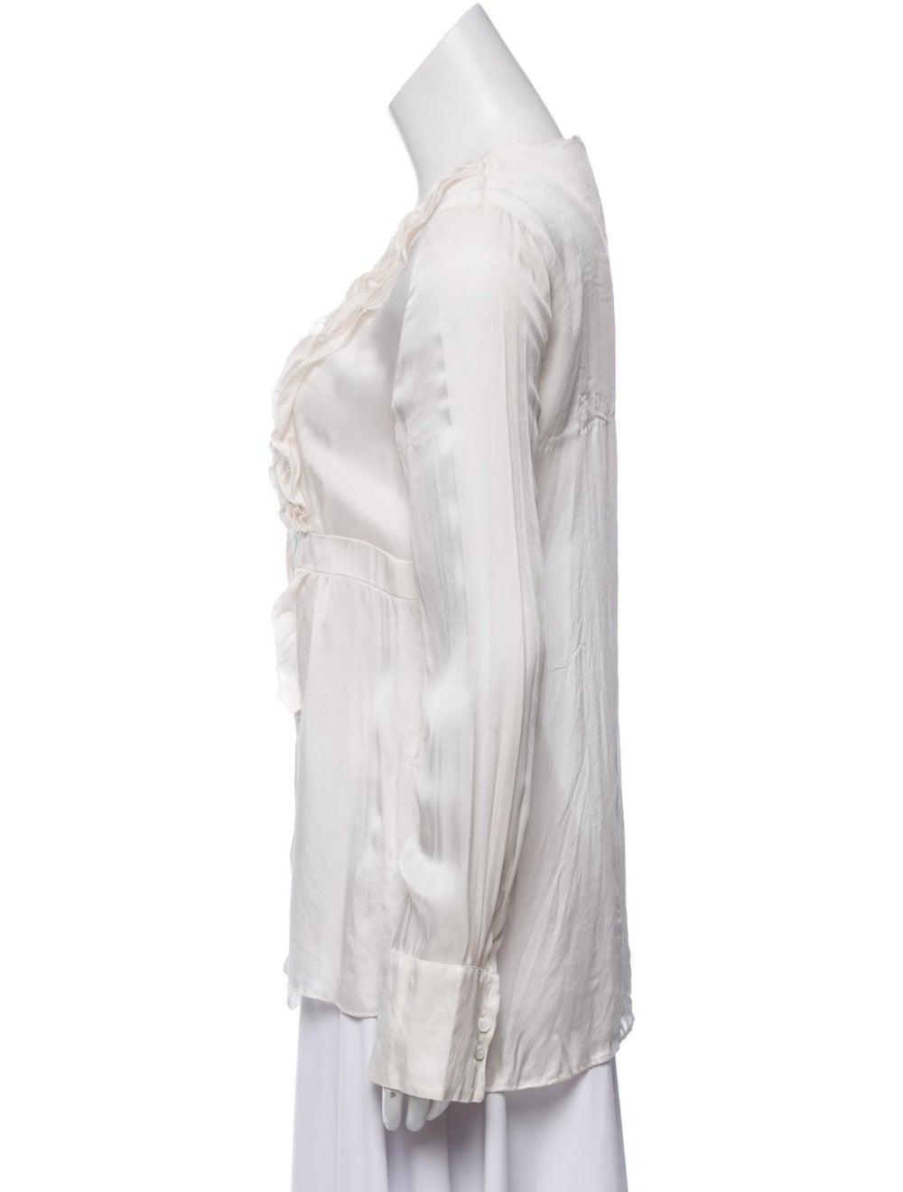 Givenchy Silk Long Sleeve Blouse - image 2